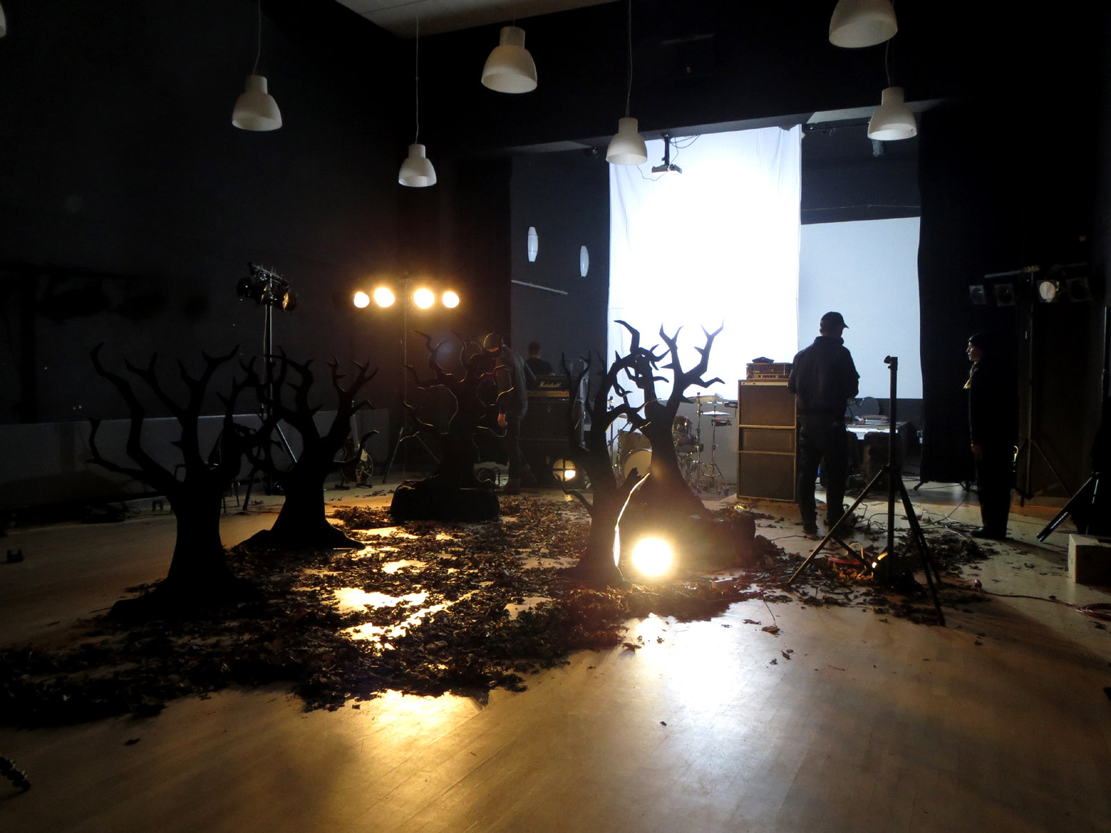 Hola Ghost video shoot for