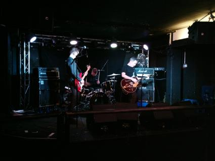 Hola Ghost in Finland, Helsinki, Bar Loose, Soundcheck