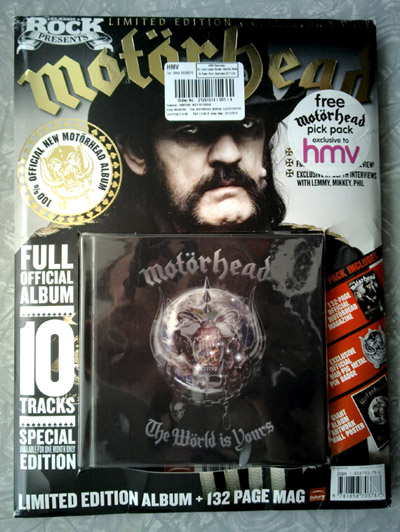 Motörhead - The Wörld Is Yours