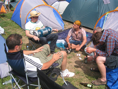 The old men's camp 2005