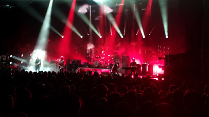 The Cure, Apollo Hammersmith, London, Monday 2014-12-22
