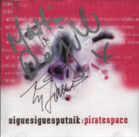 Sigue Sigue Sputnik - PIRATE SPACE (pre-release)