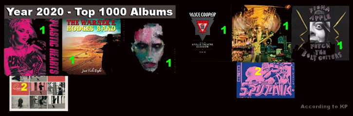 Top 1000 - Albums - Year 2020 (music comment)