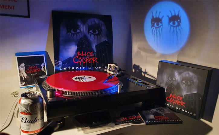 "Alice Cooper - ""Detroit Stories"" (2021) (cd/vinyl review)"